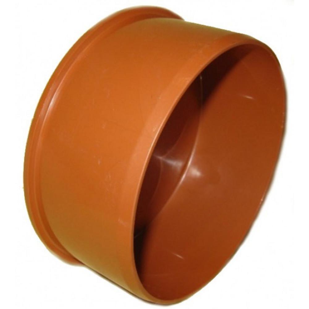 RU ПВХ Заглушка канализационная