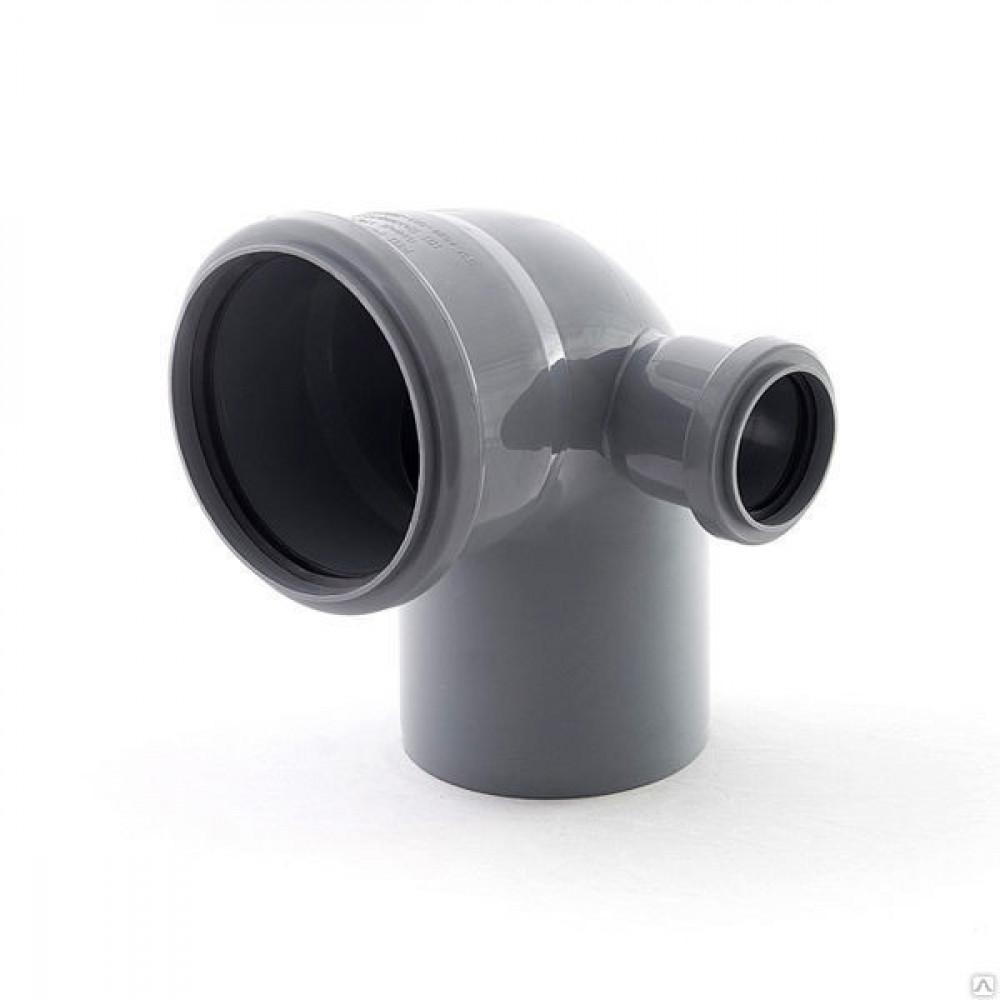 RU-РТ ПП Отвод канализационный универсальный с выходом