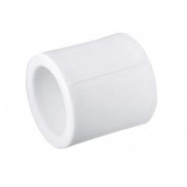 Муфта полипропиленовая соединительная (белая)