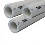 Полипропиленовая труба Master pipe SDR6 (c центральной армировкой, белая)